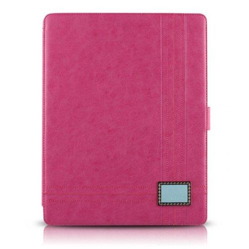 新しいiPadケース Masstige Color Point Folio ピンク_0