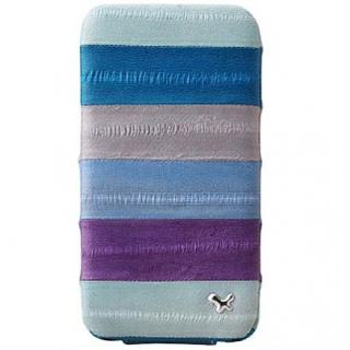 iPhone4s/4 Prestige Eel Leather Folder Series  MULTI BLUE