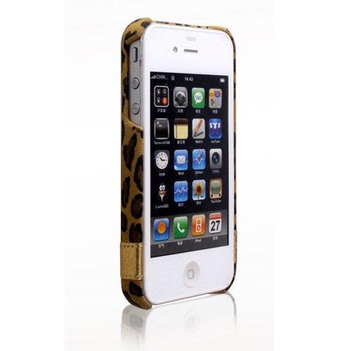 iPhone4s/4 Leopard Bar ヒョウ柄_0