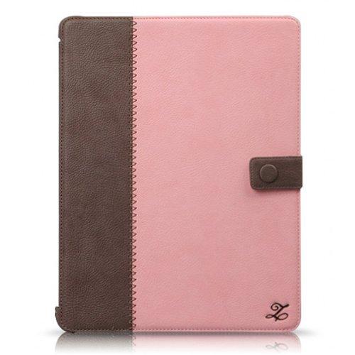 新しいiPadケース Masstige E-Note Diary ピンク iPad 第3世代第4世代_0