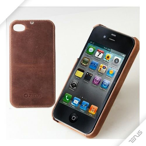 iPhone4s/4 ZENUS Vintage Brown bar  iPhone4S/4_0