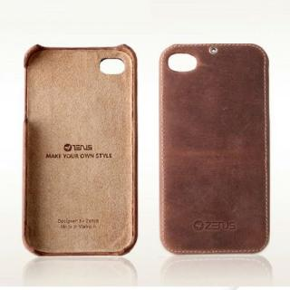 iPhone4s/4 ZENUS Vintage Brown bar  iPhone4S/4_1