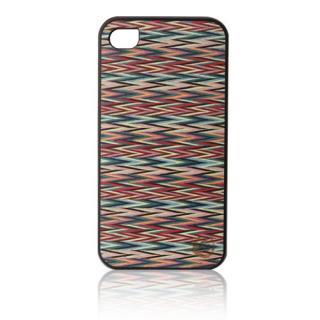 その他のiPhone/iPod ケース iPhone4s/4 Real wood case Caleido Sylvia's Check