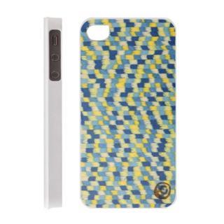 その他のiPhone/iPod ケース iPhone4s/4 Real wood case Caleido ゴッホブルータッチ_ホワイト