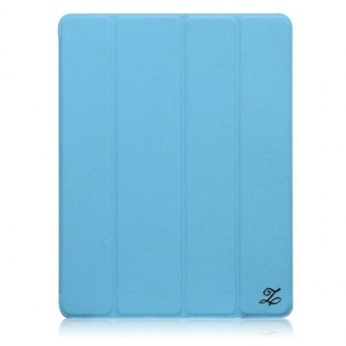 新しいiPadケース Smart Folio Cover ブルー_0