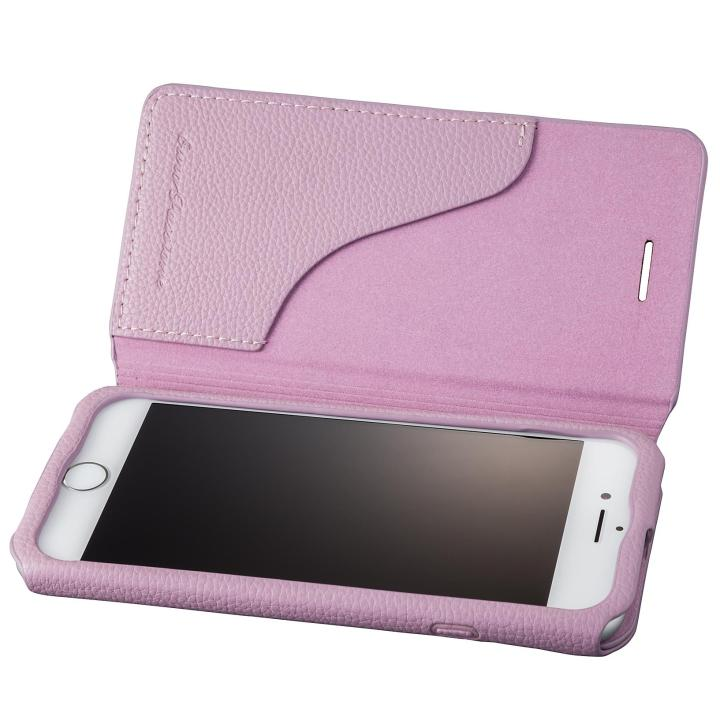iPhone8/7 ケース GRAMAS COLORS PUシュリンクレザー手帳型ケース EURO Passione 2 パープル iPhone 8/7_0