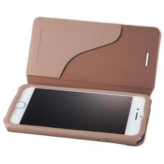GRAMAS COLORS PUシュリンクレザー手帳型ケース EURO Passione 2 ブラウン iPhone 8/7