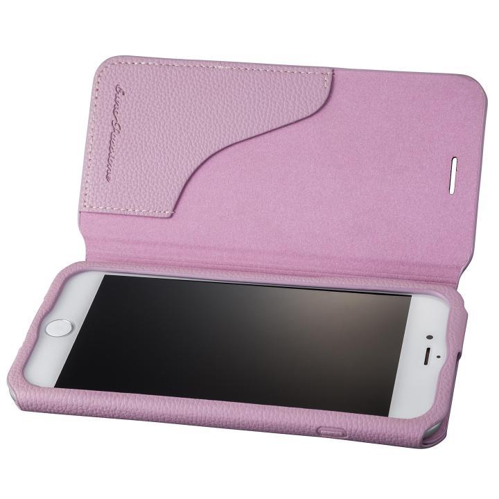 iPhone8 Plus/7 Plus ケース GRAMAS COLORS PUシュリンクレザー手帳型ケース EURO Passione 2 パープル iPhone 8 Plus/7 Plus_0