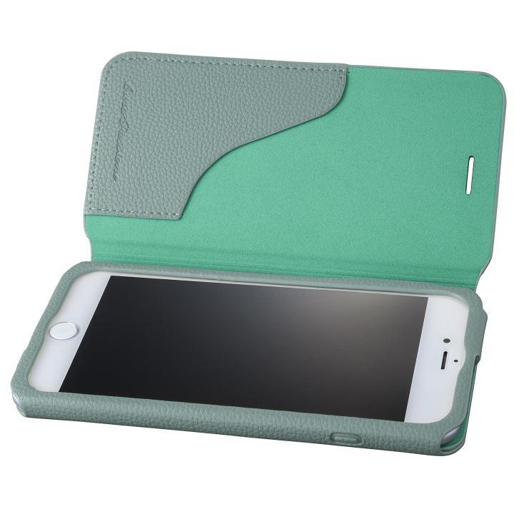 【iPhone8 Plus/7 Plusケース】GRAMAS COLORS PUシュリンクレザー手帳型ケース EURO Passione 2 ブルー iPhone 8 Plus/7 Plus_0