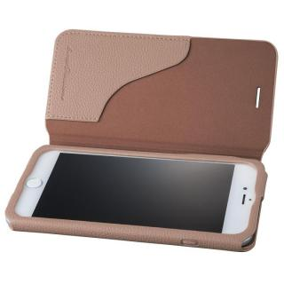 GRAMAS COLORS PUシュリンクレザー手帳型ケース EURO Passione 2 ブラウン iPhone 8 Plus/7 Plus