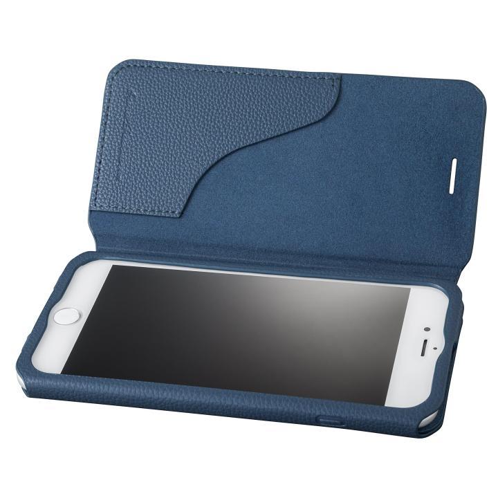 iPhone8 Plus/7 Plus ケース GRAMAS COLORS PUシュリンクレザー手帳型ケース EURO Passione 2 ネイビー iPhone 8 Plus/7 Plus_0