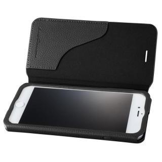 GRAMAS COLORS PUシュリンクレザー手帳型ケース EURO Passione 2 ブラック iPhone 7 Plus