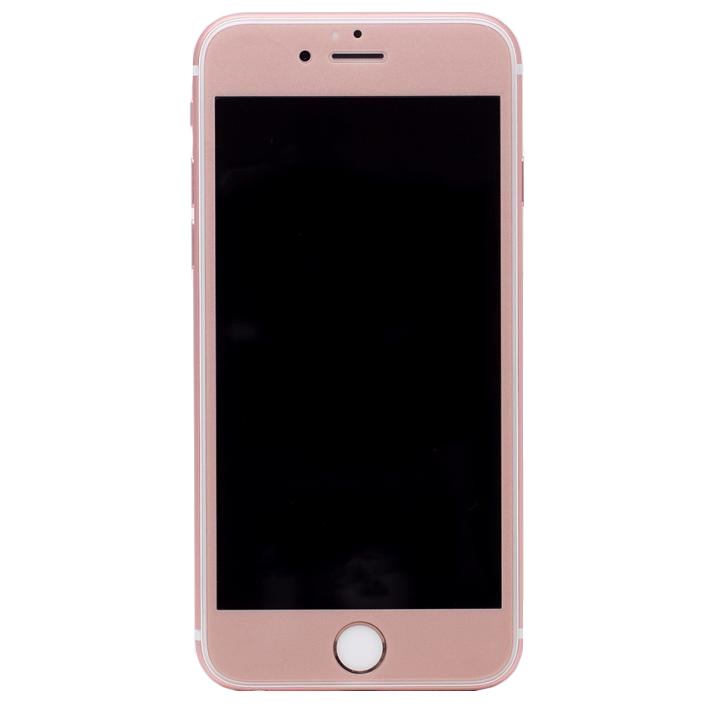 iPhone6s/6 フィルム [0.33mm]Deff 強化ガラス 全面保護 ローズゴールド iPhone 6s/6_0
