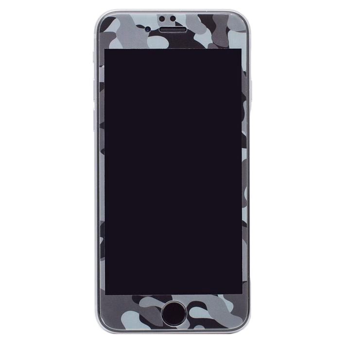 iPhone6s/6 フィルム [0.33mm]Deff 強化ガラス 全面保護 迷彩/夜中 iPhone 6s/6_0