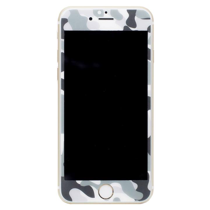 iPhone6s/6 フィルム [0.33mm]Deff 強化ガラス 全面保護 迷彩/雪原 iPhone 6s/6_0