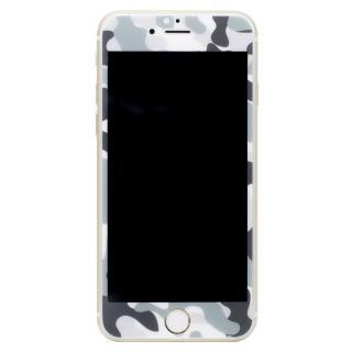 [0.33mm]Deff 強化ガラス 全面保護 迷彩/雪原 iPhone 6s/6