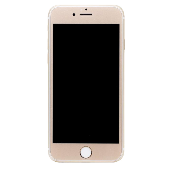 iPhone6s/6 フィルム [0.33mm]Deff 強化ガラス 全面保護 ゴールド iPhone 6s/6_0