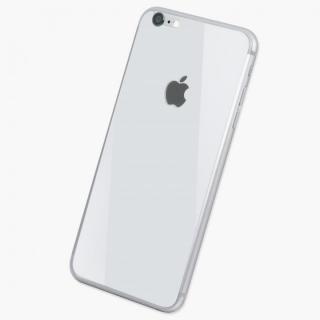 iPhone6s/6 フィルム [0.33mm]Deff 背面強化ガラス ホワイト iPhone 6s/6