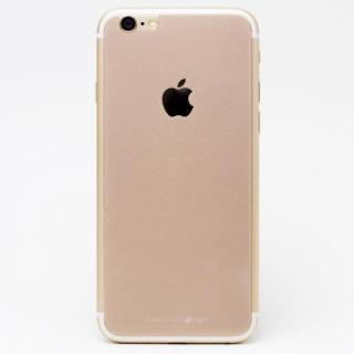 iPhone6s/6 フィルム [0.33mm]Deff 背面強化ガラス ゴールド iPhone 6s/6