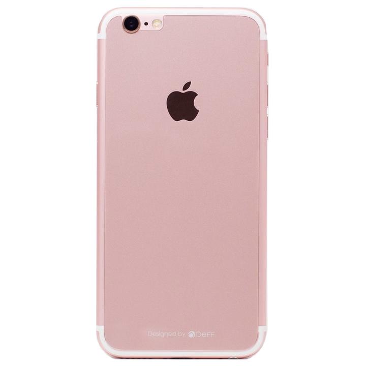iPhone6s/6 フィルム [0.33mm]Deff 背面強化ガラス ローズゴールド iPhone 6s/6_0