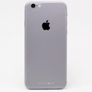 iPhone6s/6 フィルム [0.33mm]Deff 背面強化ガラス スペースグレイ iPhone 6s/6