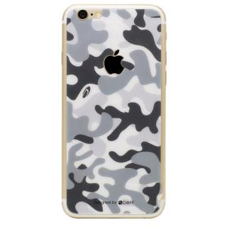【iPhone6s】[0.33mm]Deff 背面強化ガラス 迷彩/雪原 iPhone 6s/6