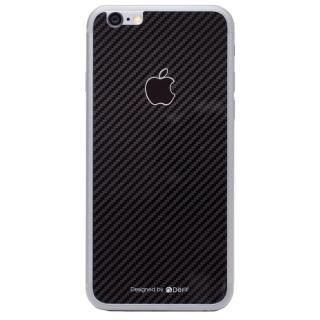 [0.33mm]Deff 背面強化ガラス ブラックカーボン iPhone 6s/6