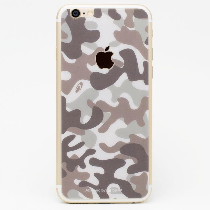 iPhone6s/6 フィルム [0.33mm]Deff 背面強化ガラス 迷彩/砂漠 iPhone 6s/6_0