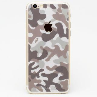 [0.33mm]Deff 背面強化ガラス 迷彩/砂漠 iPhone 6s/6