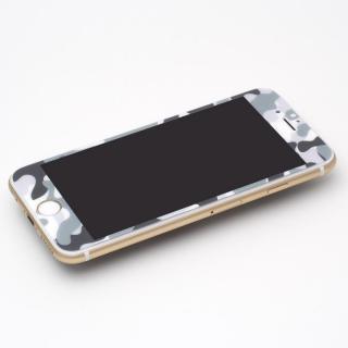 【iPhone6s Plus/6 Plusフィルム】[0.33mm]Deff 強化ガラス 全面保護 迷彩/雪原 iPhone 6s Plus/6 Plus_1