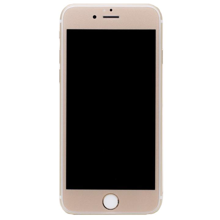 【iPhone6s Plus/6 Plusフィルム】[0.33mm]Deff 強化ガラス 全面保護 ゴールド iPhone 6s Plus/6 Plus_0