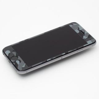 【iPhone6s Plus/6 Plusフィルム】[0.33mm]Deff 強化ガラス 全面保護 迷彩/夜中 iPhone 6s Plus/6 Plus_1