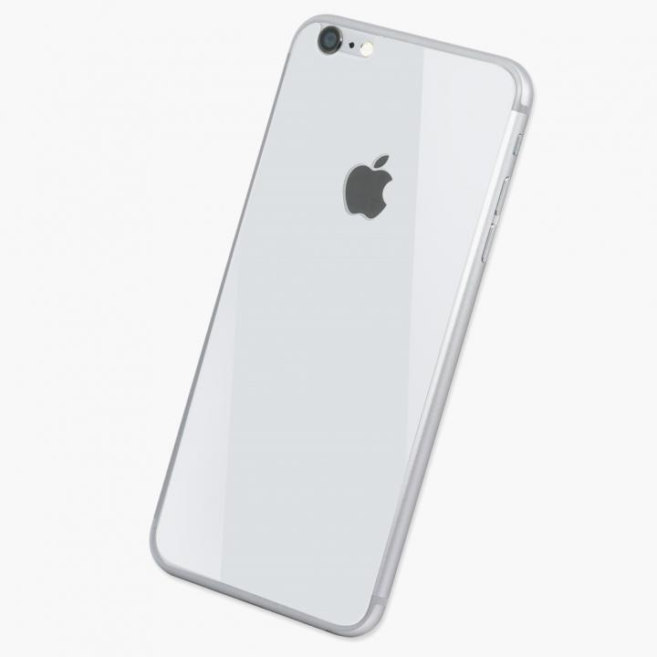 [0.33mm]Deff 背面強化ガラス ホワイト iPhone 6s Plus/6 Plus