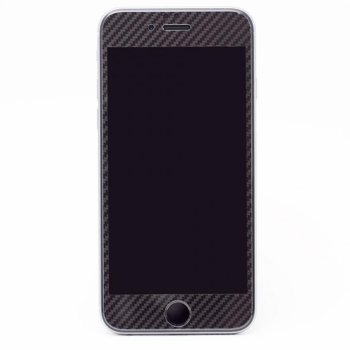 [0.33mm]Deff 強化ガラス 全面保護 ブラックカーボン iPhone 6s Plus/6 Plus