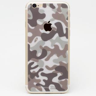 [0.33mm]Deff 背面強化ガラス 迷彩/砂漠 iPhone 6s Plus/6 Plus
