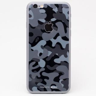 [0.33mm]Deff 背面強化ガラス 迷彩/夜中 iPhone 6s Plus/6 Plus