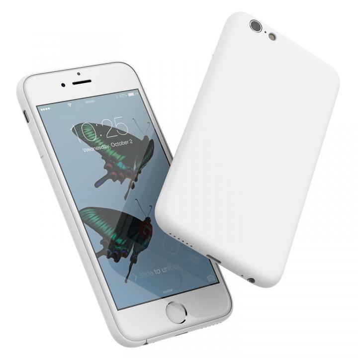 【iPhone6s/6ケース】ミニマルデザインケース MYNUS ホワイト iPhone 6s/6_0