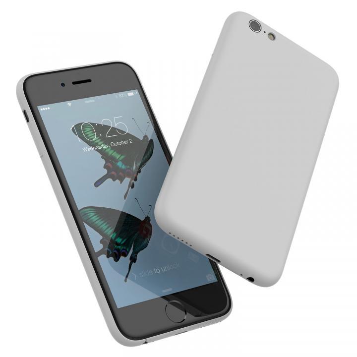 ミニマルデザインケース MYNUS ライトグレイ iPhone 6s/6
