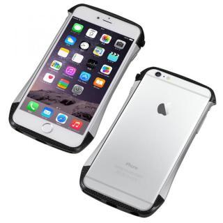 CLEAVE アルミニウム&カーボンファイバー ハイブリッドバンパー シルバー iPhone 6 Plus