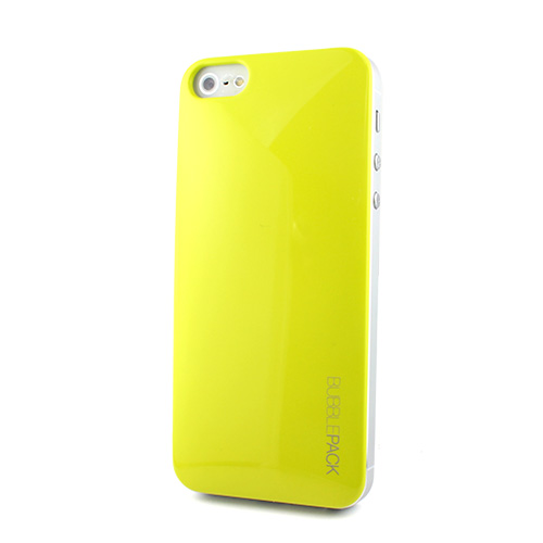 【iPhone SE/5s/5ケース】Ssongs BubblePack SuitCase Pearl Lime Yellow iPhone SE/5/5s_0