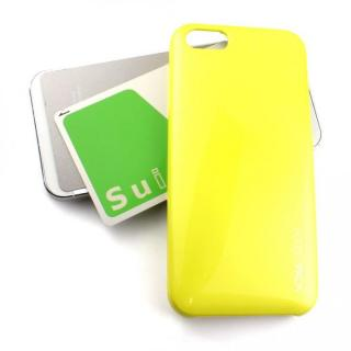 【iPhone SE/5s/5ケース】Ssongs BubblePack SuitCase Pearl Lime Yellow iPhone SE/5/5s_1