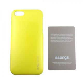 【iPhone SE/5s/5ケース】Ssongs BubblePack SuitCase Pearl Lime Yellow iPhone SE/5/5s_2