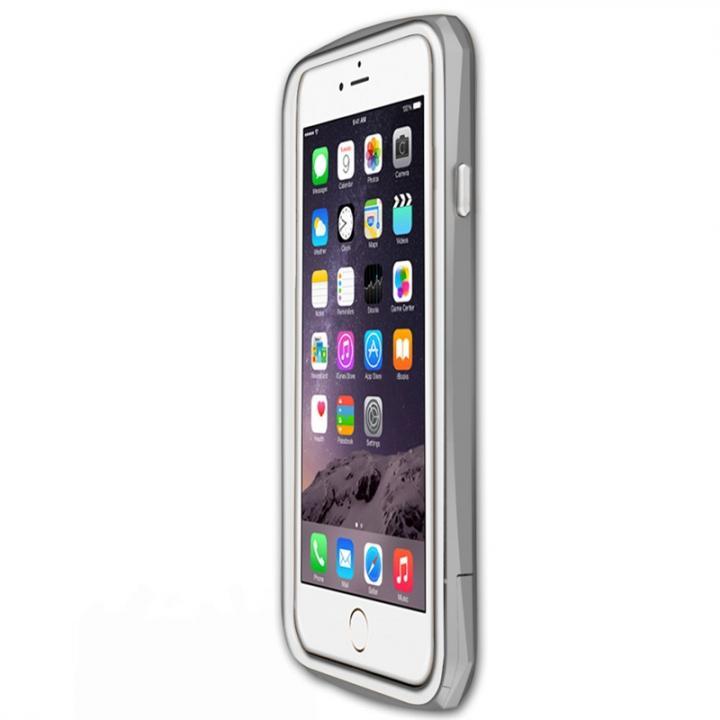 工具不要 かんたん着脱バンパー ODOYO BLADE EDGE シルバー iPhone 6 Plus