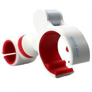 多機能スマートフォンホルダー xenomix Grab ホワイト/レッド