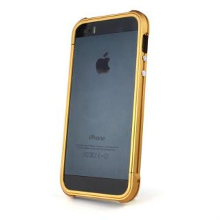 Ferr Aluminum Bumper i501B (Gold)  iPhone SE/5s/5