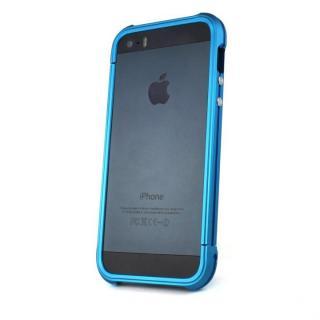 Ferr Aluminum Bumper i501B (Blue)  iPhone SE/5s/5