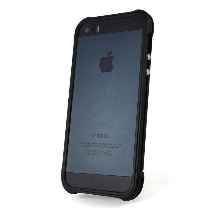 【iPhone SE/5s/5ケース】Ferr Aluminum Bumper i501B (Black)  iPhone SE/5s/5_0