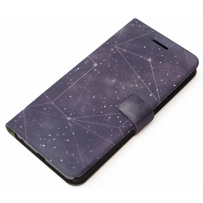 【iPhone6 Plusケース】手帳型ケース Galaxy Diary ブラックホール iPhone 6 Plus_0