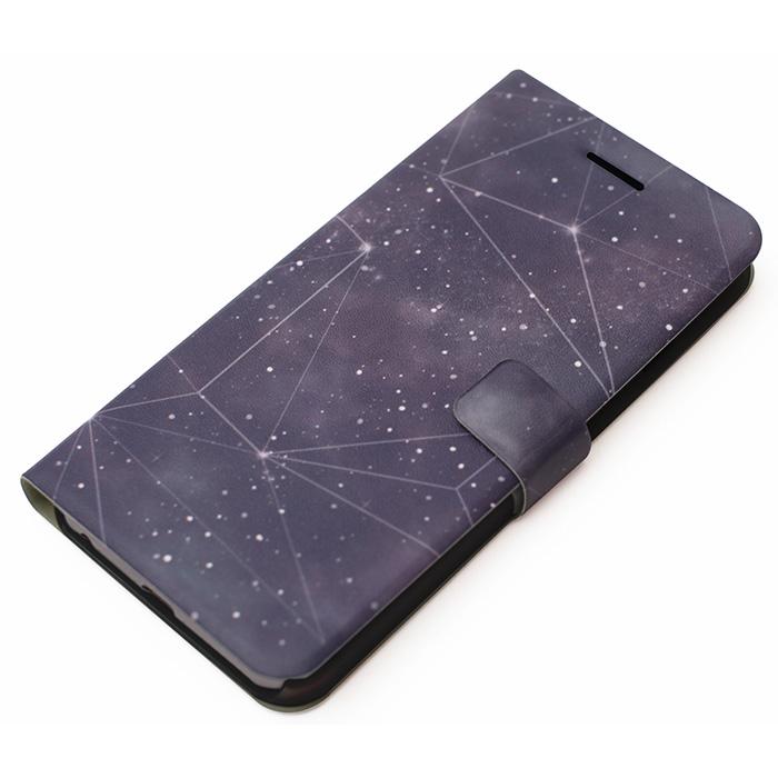 手帳型ケース Galaxy Diary ブラックホール iPhone 6 Plus