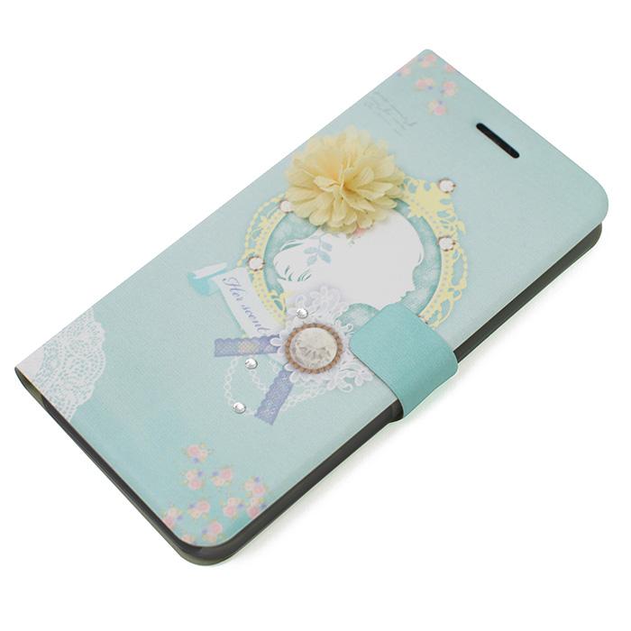 手帳型ケース Mademoiselle コーデリア iPhone 6 Plus